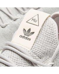 Adidas - Gray X Pharrell Williams Tennis Hu for Men - Lyst
