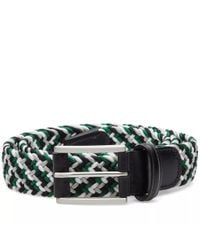 Andersons - Black Anderson's Woven Textile Belt for Men - Lyst