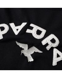 by Parra - Black Arch & Bird Crew Sweat for Men - Lyst