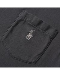 Polo Ralph Lauren - Black Custom Fit Pocket Tee for Men - Lyst