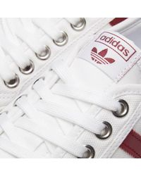 Adidas - White Nizza for Men - Lyst