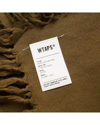 (w)taps - Green Wrap Scarf for Men - Lyst