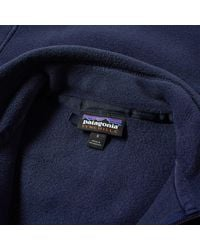 Patagonia - Blue Classic Synchilla Jacket for Men - Lyst