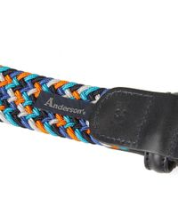 Andersons - Blue Anderson's Woven Textile Belt for Men - Lyst