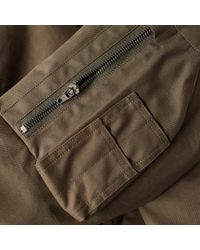 Acronym - Green J50-s High-density Gabardine Climashield Bomber Jacket for Men - Lyst