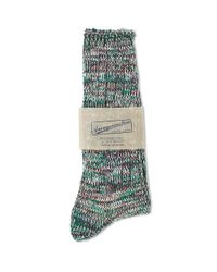 Anonymous Ism - Green 5 Colour Mix Crew Sock for Men - Lyst