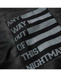 Raf Simons - Black Ma-1 Bomber Jacket for Men - Lyst
