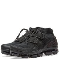 d035639a36362 Lyst - Nike Air Vapormax Flyknit Utility in Black for Men