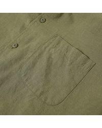 YMC - Green Brooklyn 66 Shirt for Men - Lyst