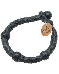 Chamula - Black Round Bracelet - Lyst