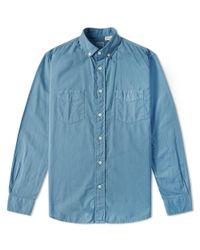 284cfbce33 Lyst - Levi s Levi s Vintage Clothing Homerun Shirt in Blue for Men