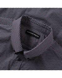 Alexander McQueen - Blue Short Sleeve Brad Pitt Shirt for Men - Lyst