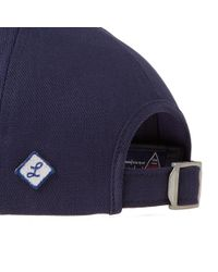 Larose Paris - Blue Logo Baseball Cap for Men - Lyst