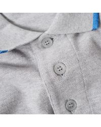 KENZO - Gray Tiger Polo for Men - Lyst