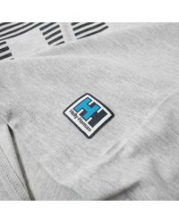 Helly Hansen - Gray Crew Tee for Men - Lyst