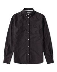 Norse Projects - Black Anton Oxford L/s Shirt for Men - Lyst