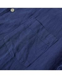 Hartford - Blue Palm Pat Vacation Shirt for Men - Lyst