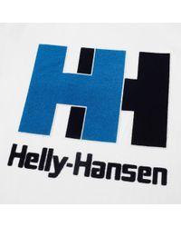 Helly Hansen - White Logo Tee for Men - Lyst