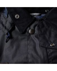 Barbour - Blue Heritage Speyside Wax Jacket for Men - Lyst