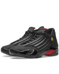 0bfbef1ff96433 Lyst - Nike Air Jordan 14 Retro in Black for Men