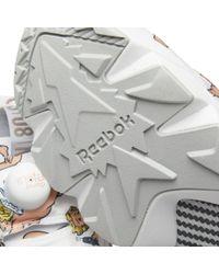 Reebok | White Instapump Fury La | Lyst