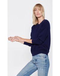 Equipment - Blue Melanie Crew Cashmere Sweater - Lyst