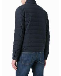 Moncler Blue Acorus Padded Jacket for men