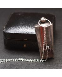 Erica Weiner - Metallic C. 1911 Large Whistle Fob Necklace - Lyst