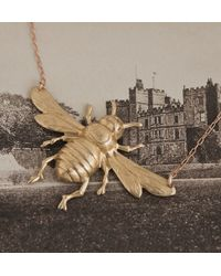 Erica Weiner - Metallic Bee Necklace - Lyst