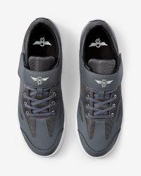 Express   Creative Recreation Bilotti Gray Low Top Sneakers for Men   Lyst