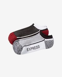 Express | Red 2-pack Color Block Low Cut Athletic Socks for Men | Lyst