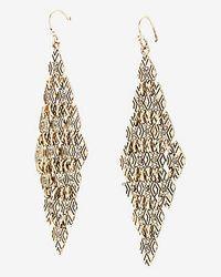 Express - Metallic Bing Bang Tiny Bullet Necklace - Lyst