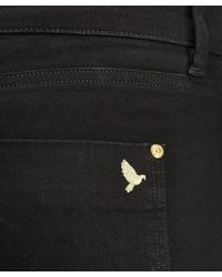 M.i.h Jeans - Black The Oslo Mid Rise Slim Leg Jeans - Lyst