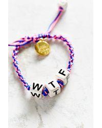 Venessa Arizaga | Blue Wtf Bracelet | Lyst