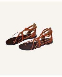 ViX | Dany Orange Sandal | Lyst