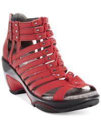 Jambu - Red Jbu Women'S Nectar Wedge Sandals - Lyst