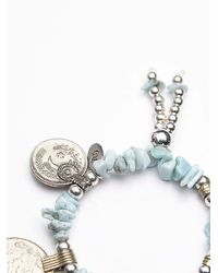 Free People - Blue Arrow Divine Womens Ocean Vibes Bracelet - Lyst