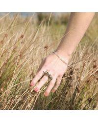 Bug - Metallic Vanger Ring - Lyst