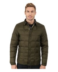 Penfield | Green Loring Down Filled Shirt Jacket for Men | Lyst