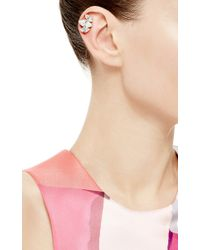 Olya Shikhova | Metallic Transparent Taiga Clips Ear Cuffs | Lyst