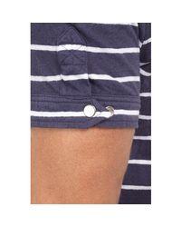 Michael Bastian | Blue Striped Polo Shirt for Men | Lyst