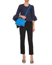 Fendi - Blue 3Jours Leather Cross-Body Bag - Lyst
