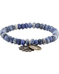 Miracle Icons | Blue Double-charm Bracelet for Men | Lyst