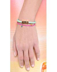 Shashi - Lilu Bracelet Hot Pink - Lyst