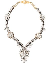 Shourouk | Metallic 'Twiggy' Necklace | Lyst