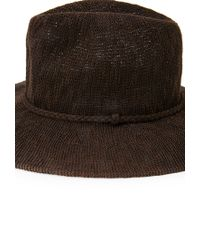Forever 21 - Brown Braided Fedora - Lyst
