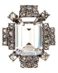 Mawi | Metallic Geometric Ring | Lyst