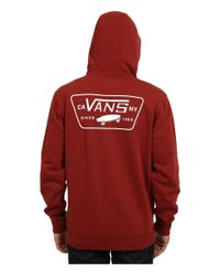 Vans | Red Full Patched for Men | Lyst