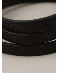 McQ | Black Buckled Bracelet | Lyst
