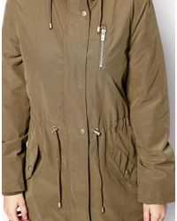Oasis - Natural Ruby Lightweight Parka - Lyst